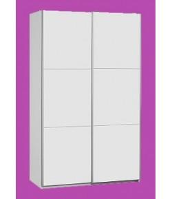 Armoire 2 portes coulissantes blanche