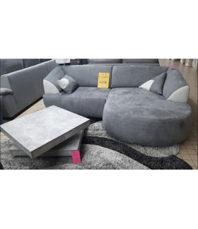 Canapé d'angle méridienne Elvira Destocké